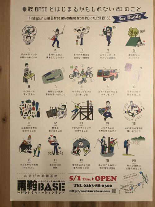乗鞍Baseのポスター